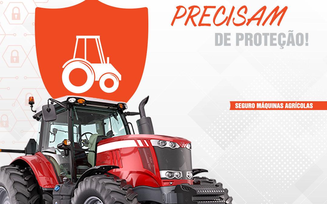 Fique tranquilo (a)! O Seguro Rural garante a proteção para o seu maquinário e seus bens relacionados às atividades agrícolas.